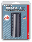 MAG-Lite Holsters, Flapless, For Use With 2-AA Flashlights, Black, 1 EA