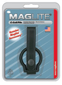 MAG-Lite Belt Holders, For Use With C-Cell Flashlights, Plain Leather, Black, 12 EA