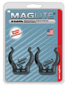 MAG-Lite Mounting Brackets, For Use With D-Cell Flashlights, 2 CD, #ASXD026