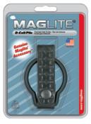 MAG-Lite Belt Holders, For Use With D-Cell Flashlights, Basketweave Leather, Black, 12 CS, #ASXD056