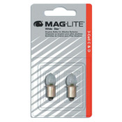 MAG-Lite Mini AA Flashlight Replacement Lamps, For Use With AA 2 cell, 2 CD, #LM2A001