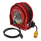 Reelcraft 12/3 x 30ft Compact Power Cord Reel, 15A Single GFCI, 1 EA, #L30301233