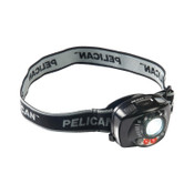 Pelican™ Headlamps, 3 Batteries, AAA, 12 lm (Low), 200 lm (High), Black, 1 EA, #272000000000