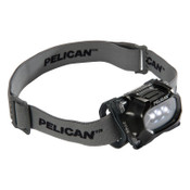 Pelican™ LED Headlights, 3 Batteries, AAA, 17/33 Lumens, Black, 1 EA, #275000000000