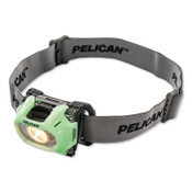 Pelican™ Color Correction LED Headlight, 3-AAA Alkaline, High 72/Low 36 Lumens, Photoluminescent, 1 EA, #275000000000