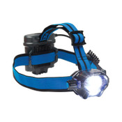Pelican™ Headlamps, 4 Batteries, AA, 430 lm (High), 53 lm (Low), Black/Blue, 1 EA, #278000000000