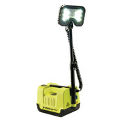 Pelican Remote Area Lighting System, 21W, 1,600 lm, Black/Green, 12.6 in Cord, 1 EA, #946000000000