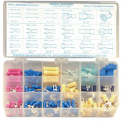 Precision Brand ELECTRICAL TERMINAL ASSORTMENT, 1 KIT, #12985