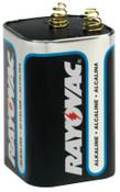 Rayovac Lantern Batteries, Maximum Alkaline, 6 V, 6 EA, #806C