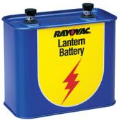 Rayovac Lantern Batteries, General Purpose, 6V, 1 EA, #918C