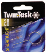 Streamlight Twin-Task Parts/Accessories, Xenon Bulb, For Use With Twin-Task 2D Flashlights, 12 EA, #51101