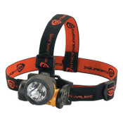 Streamlight Trident HAZ-LO Headlamp, 3 AAA, 30 to 85 Lumens, Yellow, 1 EA, #61025