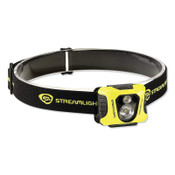 Streamlight Enduro Pro Headlamp, 3 AAA, Max 200 Lumens, Black/Yellow, 6 BX, #61422
