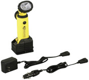 Streamlight Knucklehead LED Work Lights, 200 lumens, Yellow, AC/DC Charger, 1 EA, #90627