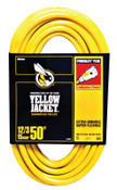 Woods Wire Yellow Jacket Power Cord, 50 ft, 1 EA