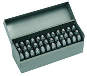 C.H. Hanson Premier Steel Hand Stamp Sets, 1/16 in, 0 thru 8; A thru Z, 1/SET