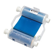 Brady BBP31/BBP33 Heavy-Duty Print Ribbons, 200 ft x 4.33 in, Blue, 1/EA, #B30R10000BL