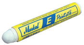 Markal Paintstik E Markers, 11/16 in, White, 12/DOZ, #88620