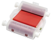 Brady BBP31/BBP33 Heavy-Duty Print Ribbons, 200 ft x 4.33 in, Red, 1/EA, #B30R10000RD