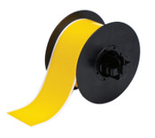 Brady BBP31 Indoor/Outdoor Vinyl Tapes, 100 ft x 2 1/4 in, Yellow, 1/RL, #B30C2250595YL