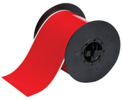 Brady BBP31 Indoor/Outdoor Vinyl Tapes, 100 ft x 4 in, Red, 1/RL, #B30C4000595RD