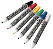 ITW Pro Brands DYKEM Tuff Guy Markers, Red, Medium, 12/BX, #44819