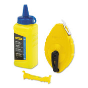 Stanley Products CHALK BOX WITH BLUE CHALK AND LINE LEVEL, 1/EA