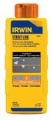 Stanley Products Hi-Visibility Marking Chalks, 8 oz, Hi Vis Orange, 1/BTL, #64905ZR