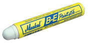 Markal Paintstik B-E Markers, 11/16 in, White, 12/DZ, #80620