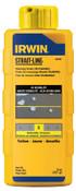 Stanley Products Hi-Visibility Marking Chalks, 8 oz, Hi Vis Yellow, 1/BTL, #64903