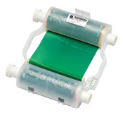 Brady BBP31/BBP33 Heavy-Duty Print Ribbons, 200 ft x 4.33 in, Green, 1/EA, #B30R10000GN
