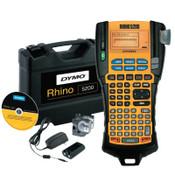 "DYMO RHINO Indstrl 5200 Label Maker, w/ 3/4""x18' & 3/8""x18' Wht IND Vinyl Lbl Crtrdg, 1/EA, #1756589"
