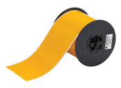 Brady BBP31 Indoor/Outdoor Vinyl Tapes, 100 ft x 4 in, Yellow, 1/RL, #B30C4000595YL