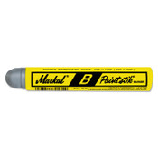 Markal Paintstik B Markers, 11/16 in, Gray, 12/DZ, #80230
