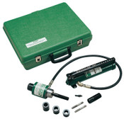 Greenlee Ram & Hand Pump Hydraulic Driver Kits, 11 tons, Driver, Hand Pump, Case, 1/EA, #50159062