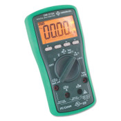 Greenlee DM-210A Digital Multimeter with Auto and Manual Ranging, 1/EA, #DM210A