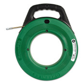 "Greenlee Flex-O-Twist Flexible Steel Fish Tape with 12"" Plastic Reel, 3/16"" x 50 ft, 1/EA, #52041748"