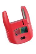 Gardner Bender Analog Battery Testers, AA, AAA, C, D, 9V, 1.5V Button, 1/EA, #GBT3502