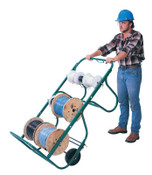 Greenlee 31518 WIRE CART W/5 REEL, 1/EA, #50315188