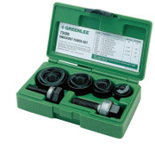 Greenlee Manual Round Standard Knockout Punch Kits, 1/2 - 1 1/4 in, 1/ST, #50199730