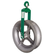 "Greenlee 15326 18""DIA. HOOK SHEAVE, 1/EA, #50153269"