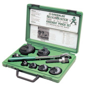 Greenlee Slug-Buster Knockout Kits, 1/2 in - 2 in, 1/ST, #50347578