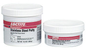 Loctite Fixmaster Stainless Steel Putty, 1 lb, Pack, Metallic Grey, 1/KIT