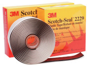 3M Scotch-Seal Mastic Tape 2229, 3 3/4 in X 10 ft, 125 mil, 1/EA, #7000043008