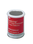 3M Scotch-Grip High Performance Contact Adhesive 1357, 1 pt, Can, Gray-Olive, 1/BO