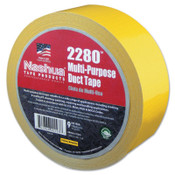 Berry Global 2280 General Purpose Duct Tapes, Yellow, 55m x 48mm x 9 mil, 1/RL