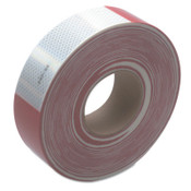 3M Diamond Grade Conspicuity Marking Roll, 2 in X 150 ft, Red/White, 1/ROL
