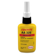 Loctite 325 Speedbonder Structural Adhesive, High Temperature, 50 mL, Bottle, Amber, 1/BTL