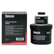 Devcon Plastic Steel Liquid (B), 4 lb, Dark Grey, 1/EA