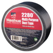 Berry Global 2280 General Purpose Duct Tapes, Black, 55m x 48mm x 9 mil, 1/RL